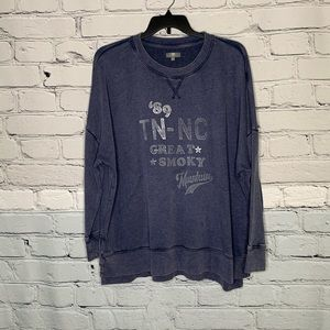 True Craft Smoky Mountains Sweatshirt - Size 3X